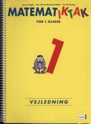 matematik-tak 1.kl. lærervejledning - bog