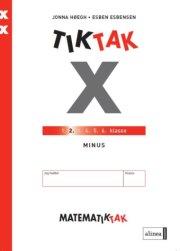 matematik-tak 2.kl. x-serien, minus - bog