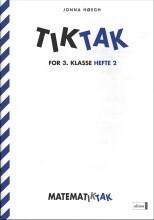 matematik-tak 3.kl. tik-tak 2 - bog