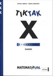 matematik-tak 3.kl. x-serien, gange - bog