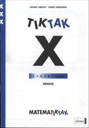 matematik-tak 3. kl. x-serien, minus - bog