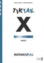 matematik-tak 4.kl. x-serien, minus - bog