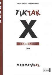 matematik-tak 5.kl. x-serien, dele - bog