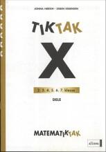 matematik-tak 6.kl. x-serien, dele - bog