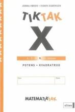matematik-tak 9.kl. x-serien, potens og rod - bog