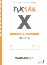 matematik-tak 9. kl. x-serien, reelle tal - bog