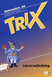 matematrix 3a, trix, lærervejledning - bog