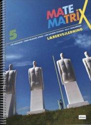matematrix 5, lærervejledning - bog