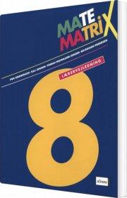 matematrix 8, lærervejledning - bog