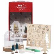 lav selv glasklokker med pynt - diy christmas - Kreativitet