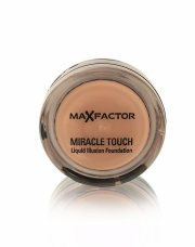 foundation - max factor miracle touch - almond - Makeup