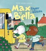 max og bella tager bussen - bog