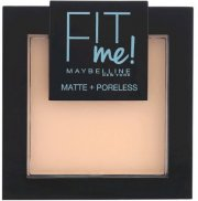 maybelline fit me matte and poreless powder - 104 soft ivory - Makeup