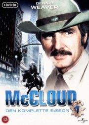 mccloud - sæson 1 - DVD