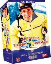 med thomas uhrskov på ski - skiboks - sæson 1-3 - DVD