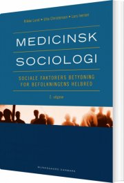 medicinsk sociologi - bog