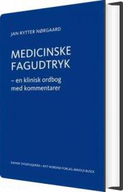 medicinske fagudtryk - bog