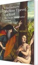 mellem djævel og gud - bog