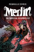 merlin #3: merlin og søster hårbolle - bog