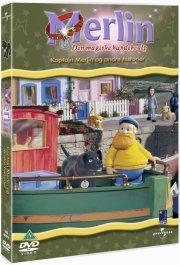 merlin den magiske hundehvalp - kaptajn merlin - DVD