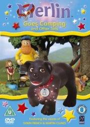 merlin the magical puppy - tager på camping - DVD