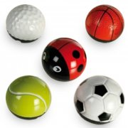 metal bold med friktion - golf ball - Diverse