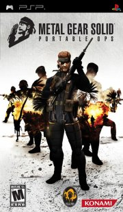 metal gear solid: portable ops - psp