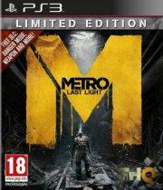 metro: last light - limited edition - PS3