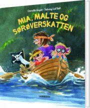 mia, malte og sørøverskatten - bog