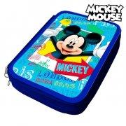 mickey mouse penalhus i blå - Skole