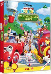 mickeys klubhus / mickey mouse clubhouse - det venskabelige vejløb - DVD