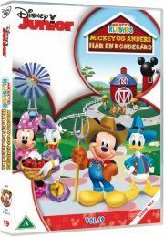 mickeys klubhus / mickey mouse clubhouse - mickey og anders har en bondegård - DVD