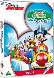 mickeys klubhus / mickey mouse clubhouse - mickeys futtog - DVD