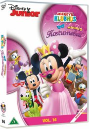 mickeys klubhus / mickey mouse clubhouse - minnies kostumebal - DVD