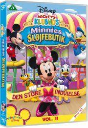 mickeys klubhus / mickey mouse clubhouse - minnies sløjfebutik - DVD