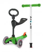 micro mini tre-i-en løbehjul - grøn - Udendørs Leg