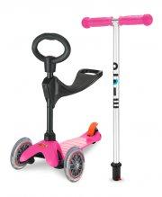 micro mini tre-i-en løbehjul - pink - Udendørs Leg