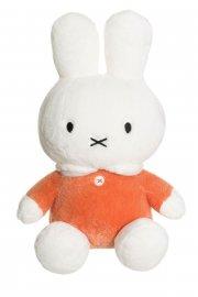 miffy kanin bamse i orange - blød 30 cm. - Bamser