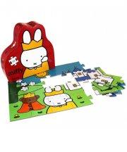 miffy puslespil til børn - slot - Brætspil