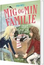 mig og min familie. store flyttedag - bog