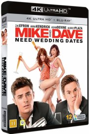 mike and dave need wedding dates - 4k Ultra HD Blu-Ray