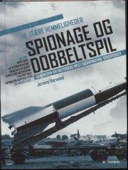 militære hemmeligheder: spionage og dobbeltspil - bog