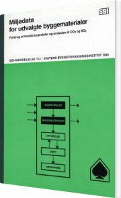 miljødata for udvalgte byggematerialer - bog