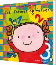 min bog om tal, former og farver - bog