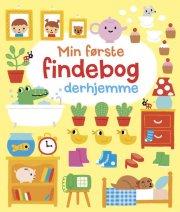 min første findebog derhjemme - bog