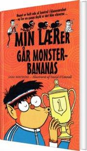 min lærer går monsterbananas - bog