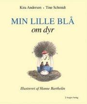 min lille blå om dyr - bog