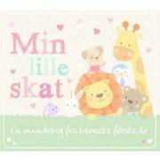 min lille skat - en mindebog fra barnets første år - bog