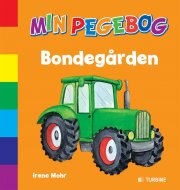 min pegebog - bondegården - bog