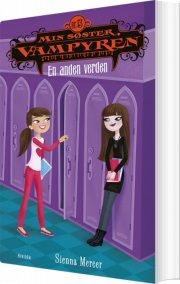 min søster, vampyren 13: en anden verden - bog